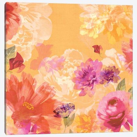 Vintage Floral II Canvas Print #ZEE29} by Isabelle Z Art Print