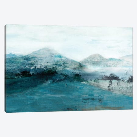 Blue Hill Canvas Print #ZEE2} by Isabelle Z Canvas Wall Art