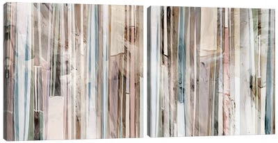 Subdued Diptych Canvas Art Print