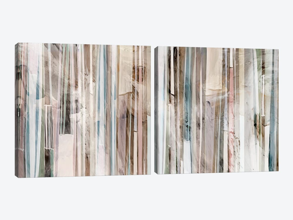 Subdued Diptych by Isabelle Z 2-piece Canvas Artwork