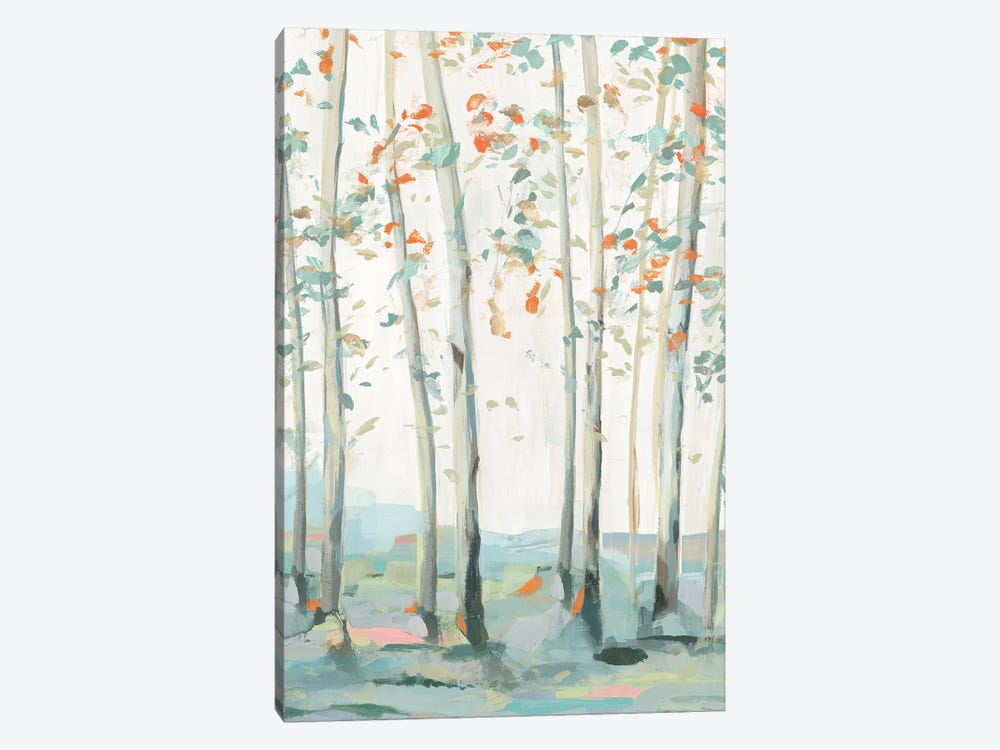 Emerald Forest I  by Isabelle Z 1-piece Canvas Art Print