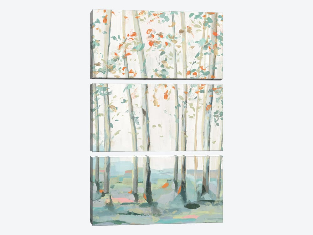 Emerald Forest I  by Isabelle Z 3-piece Art Print
