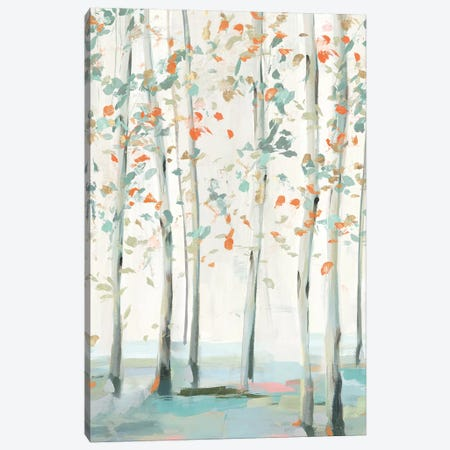 Emerald Forest II   Canvas Print #ZEE315} by Isabelle Z Art Print