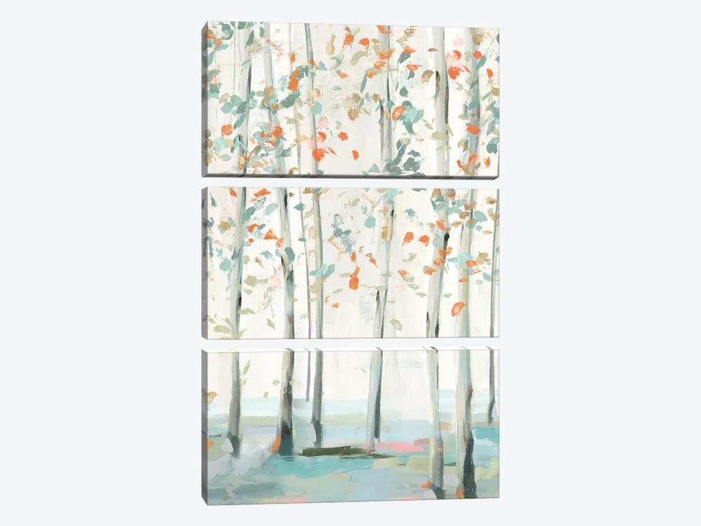 Emerald Forest II   by Isabelle Z 3-piece Canvas Wall Art