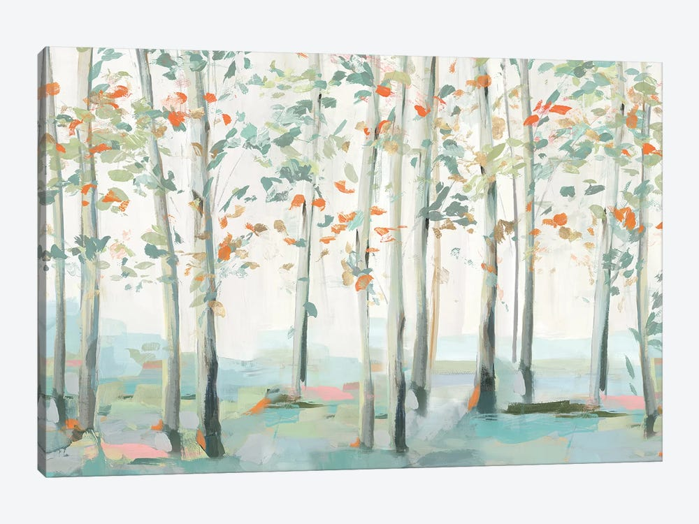 Emerald Forest III   by Isabelle Z 1-piece Art Print