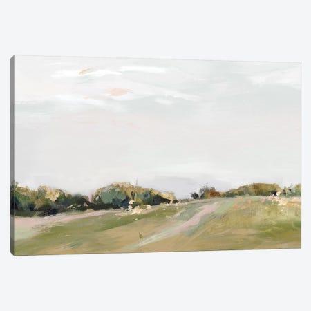 Golden Grasslands  Canvas Print #ZEE322} by Isabelle Z Canvas Art Print
