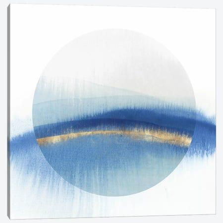 Indigo Eclipse I  Canvas Print #ZEE323} by Isabelle Z Canvas Print