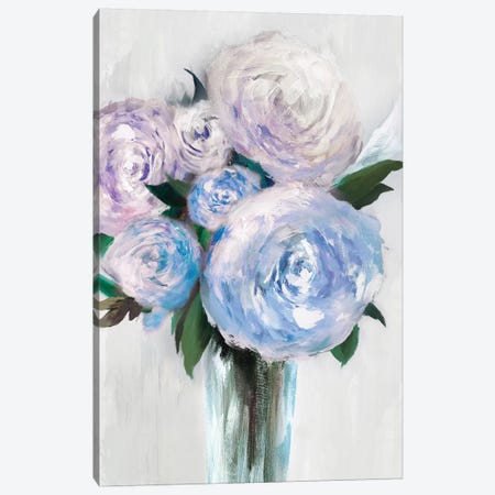 Beauty Within A Vase I Canvas Print #ZEE33} by Isabelle Z Canvas Wall Art