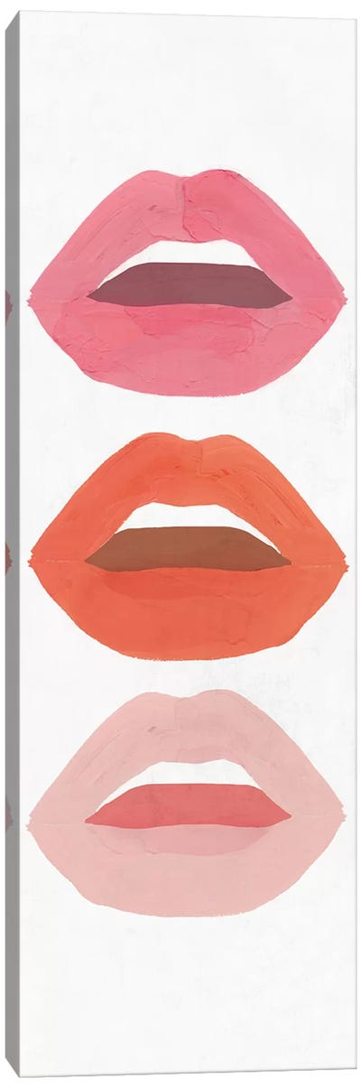 Red Lips I  Canvas Art Print