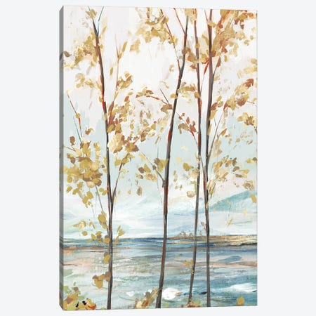 Sage Tree Forest I 3-Piece Canvas #ZEE347} by Isabelle Z Canvas Wall Art