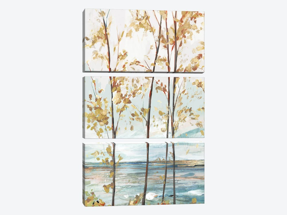 Sage Tree Forest I by Isabelle Z 3-piece Canvas Print