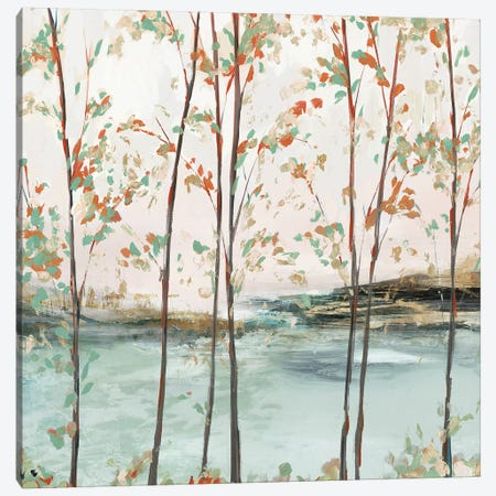 Sage Tree Forest II  Canvas Print #ZEE348} by Isabelle Z Art Print