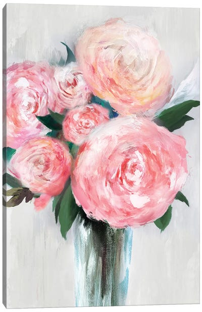 Beauty Within A Vase II Canvas Art Print