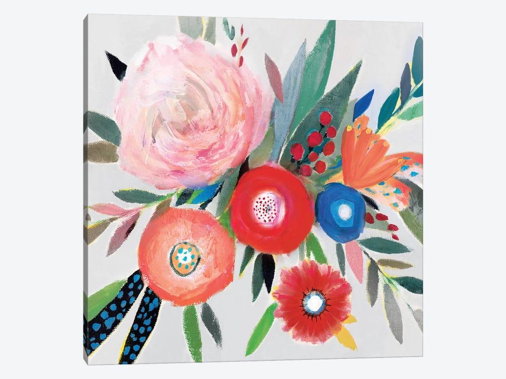 Circular Color Palette I by Isabelle Z 1-piece Canvas Artwork