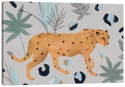 Walking Cheetah I  Canvas Art Print