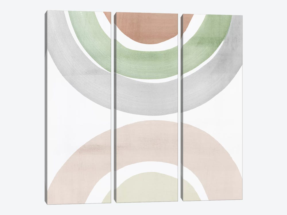 Bend of Colors II by Isabelle Z 3-piece Canvas Artwork