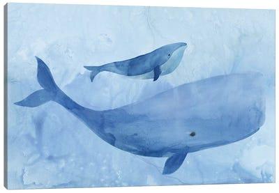Blue Spirits I Canvas Art Print