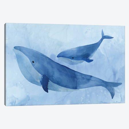 Blue Spirits II Canvas Print #ZEE377} by Isabelle Z Art Print