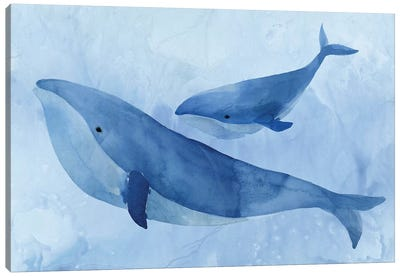 Blue Spirits II Canvas Art Print