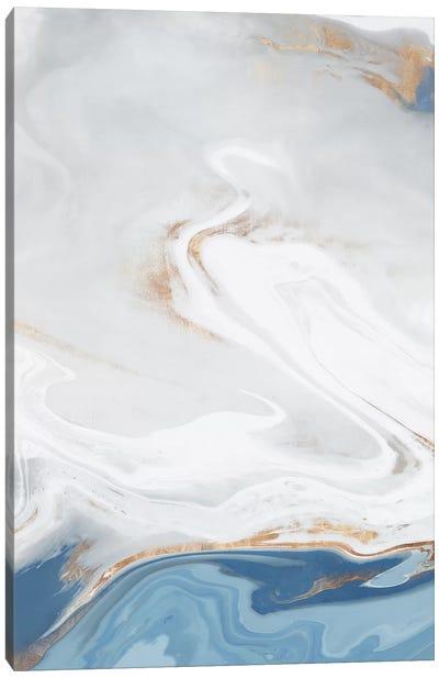 Blue Velour II Canvas Art Print