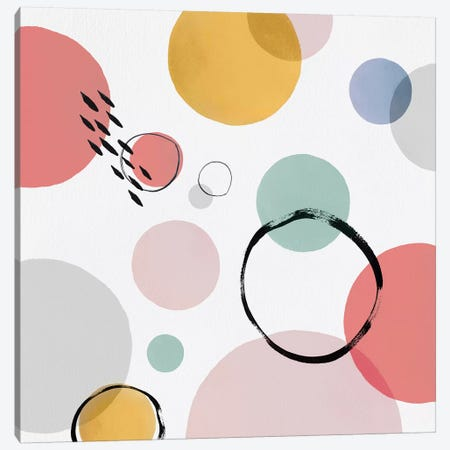 Color Motion I Canvas Print #ZEE38} by Isabelle Z Canvas Art