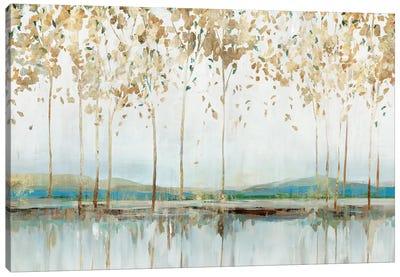 Golden Whisper Canvas Art Print