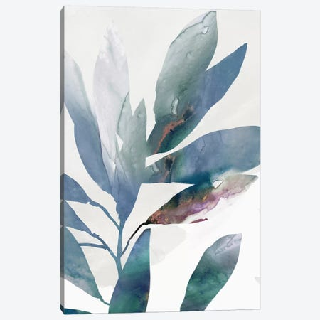Indigo Sprig I Canvas Print #ZEE394} by Isabelle Z Art Print