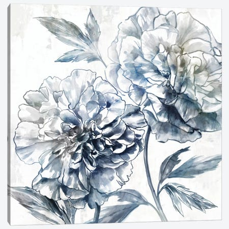 Japanese Peony I 3-Piece Canvas #ZEE396} by Isabelle Z Canvas Print