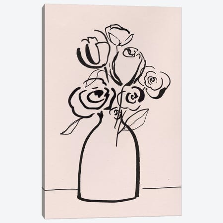 Juliet Bouquet Canvas Print #ZEE398} by Isabelle Z Canvas Wall Art