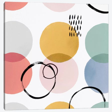 Color Motion II 3-Piece Canvas #ZEE39} by Isabelle Z Canvas Wall Art