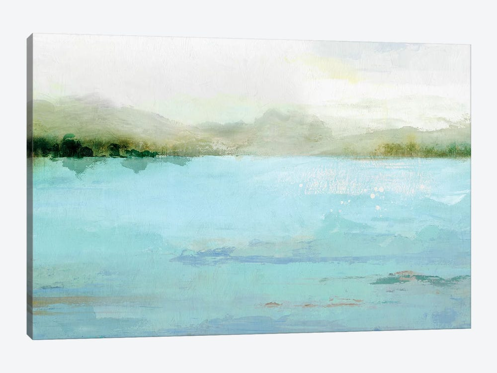 Blue Lake by Isabelle Z 1-piece Canvas Art