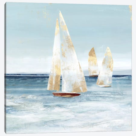 Mainsail II Canvas Print #ZEE402} by Isabelle Z Canvas Wall Art