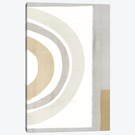 Pastel Color Block Canvas Print #ZEE405} by Isabelle Z Art Print