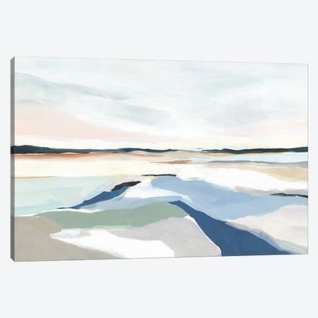 Seaside Day I 3-Piece Canvas #ZEE411} by Isabelle Z Canvas Art Print