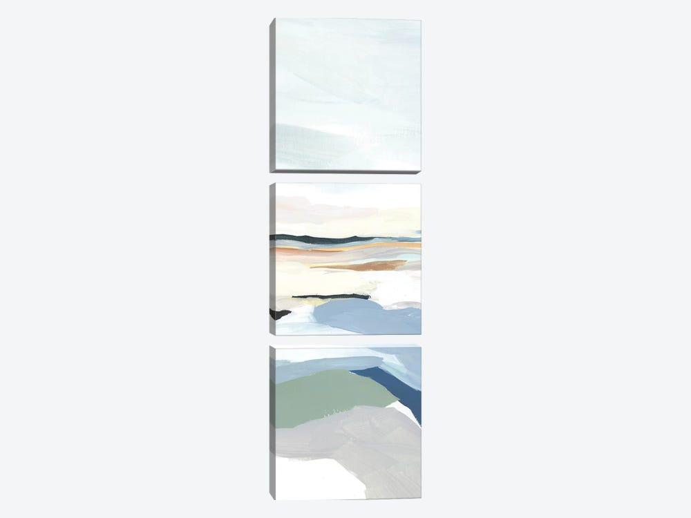 Seaside Day III by Isabelle Z 3-piece Canvas Art Print