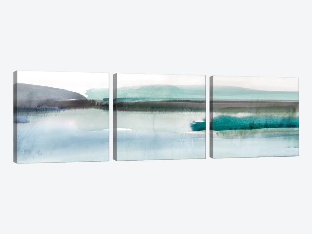 Slide Away I by Isabelle Z 3-piece Canvas Art
