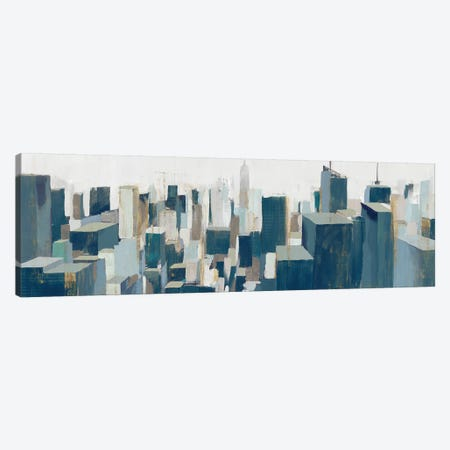 The City Canvas Print #ZEE435} by Isabelle Z Canvas Artwork