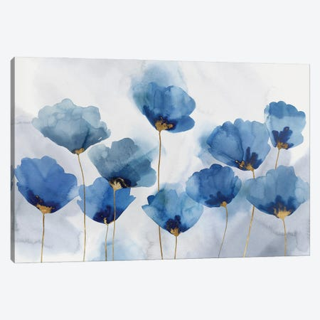 Azure Gathering Canvas Print #ZEE445} by Isabelle Z Canvas Art Print