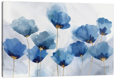 Azure Gathering Canvas Art Print