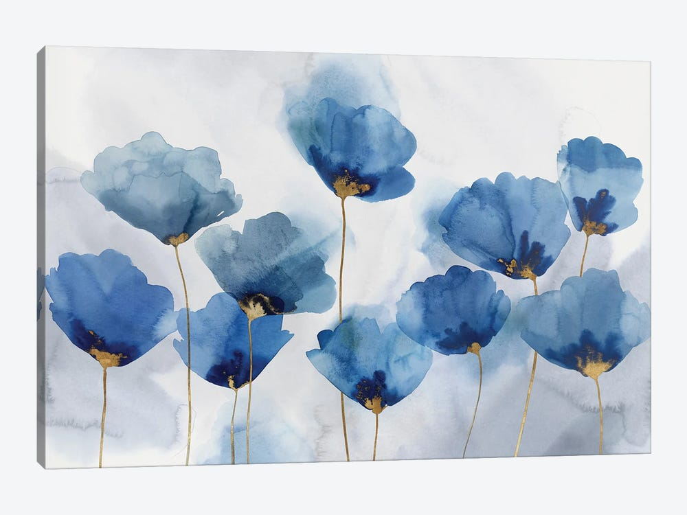 Azure Gathering by Isabelle Z 1-piece Canvas Art