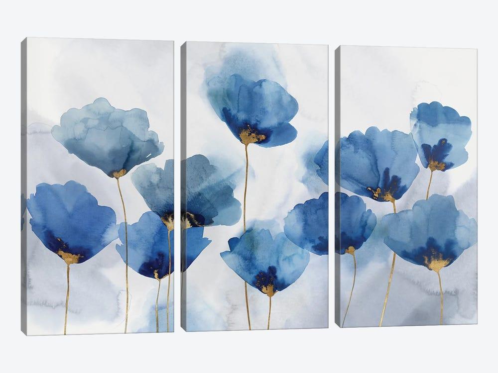 Azure Gathering by Isabelle Z 3-piece Canvas Artwork