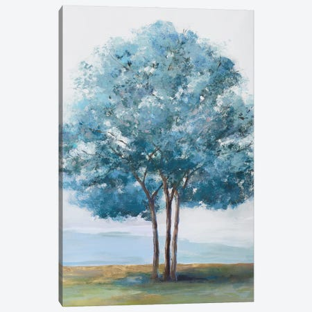 Blue Crown Canvas Print #ZEE446} by Isabelle Z Art Print