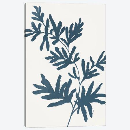 Blue Twig II Canvas Print #ZEE449} by Isabelle Z Canvas Artwork