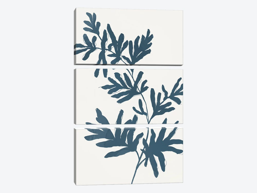 Blue Twig II by Isabelle Z 3-piece Canvas Art