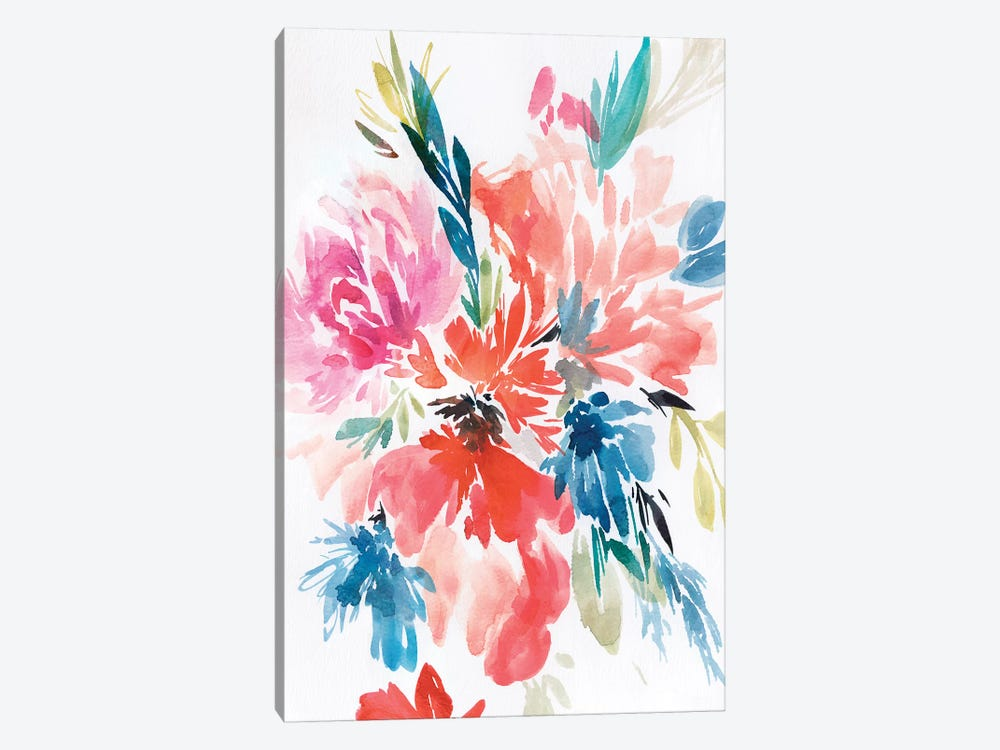 Flower Explosion I by Isabelle Z 1-piece Canvas Art