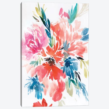Flower Explosion I Canvas Print #ZEE44} by Isabelle Z Canvas Wall Art