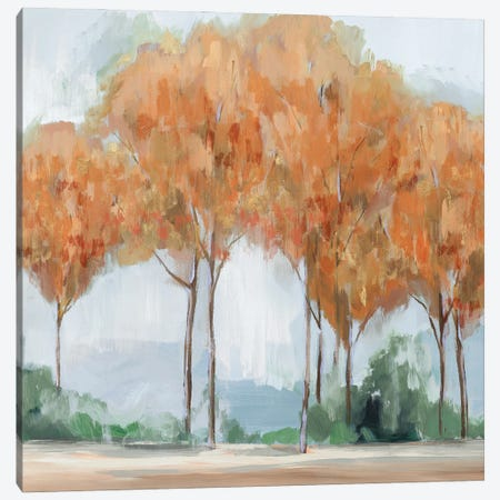 Coral Forest Canvas Print #ZEE452} by Isabelle Z Art Print