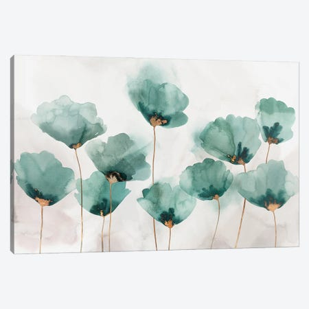 Emerald Gathering Canvas Print #ZEE453} by Isabelle Z Art Print
