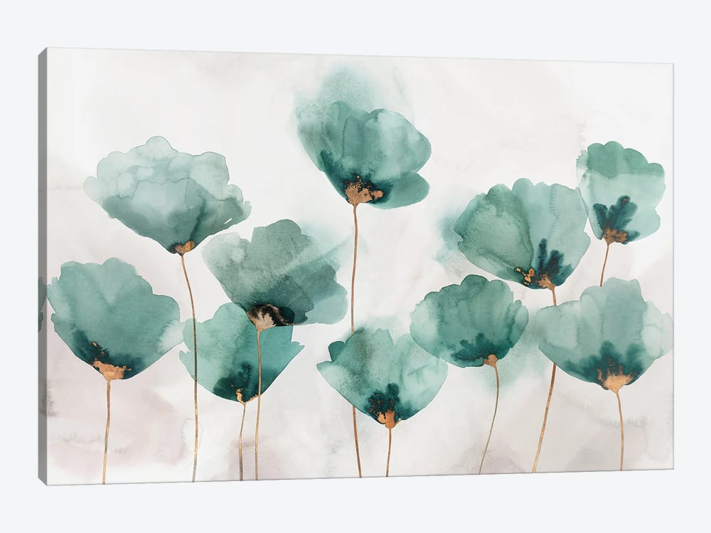 Emerald Gathering by Isabelle Z 1-piece Canvas Art Print