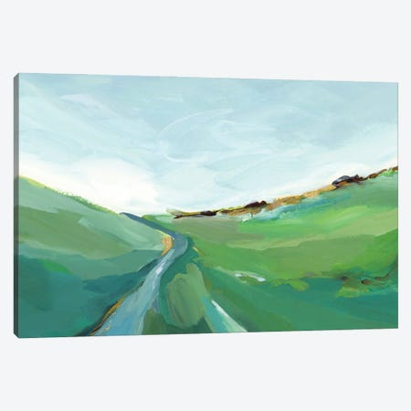 Emerald Hills Canvas Print #ZEE454} by Isabelle Z Canvas Art